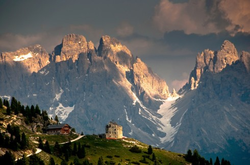 The Dolomites of northern Italy