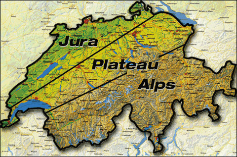 Swiss Geography