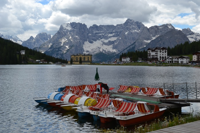 Lunching at Lago Misurina